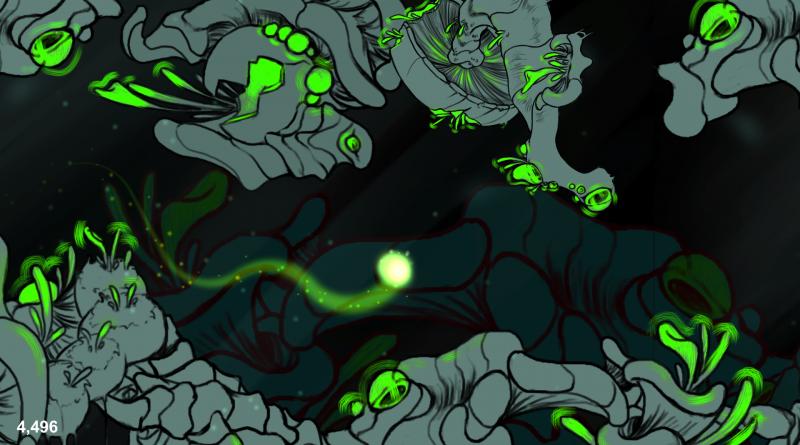 Exploring the underworld in shroomy pleasures.