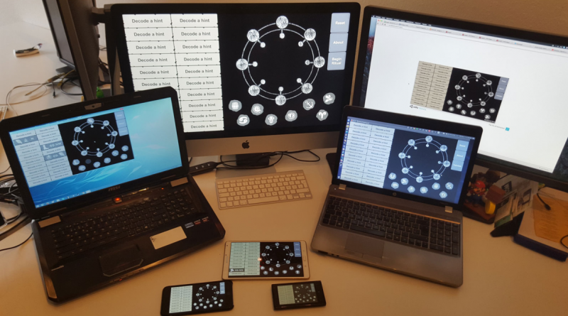 Our game art of homunculi or several devices.