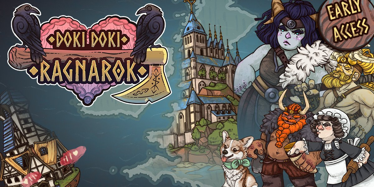 Doki Doki Ragnarok is available in Early Access